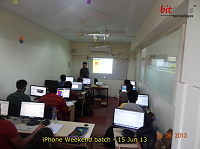 Android, iPhone,Blackberry training center pune